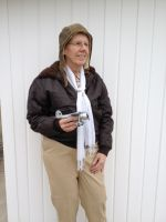Patty Sue Cooper will portray Amelia Earhart in separate performances at the Wheeling, Weirton and New Martinsville campuses of West Virginia Northern Community College to commemorate National Women's History Month in March.